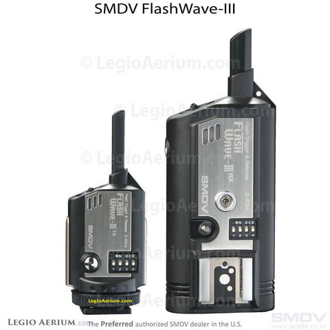SMDV FlashWave-III Flash Slave- Transmitter and Receiver Set