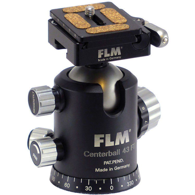 FLM CB-43FTR Ball Head with QRS-50 Quick Release System (Demo Unit)