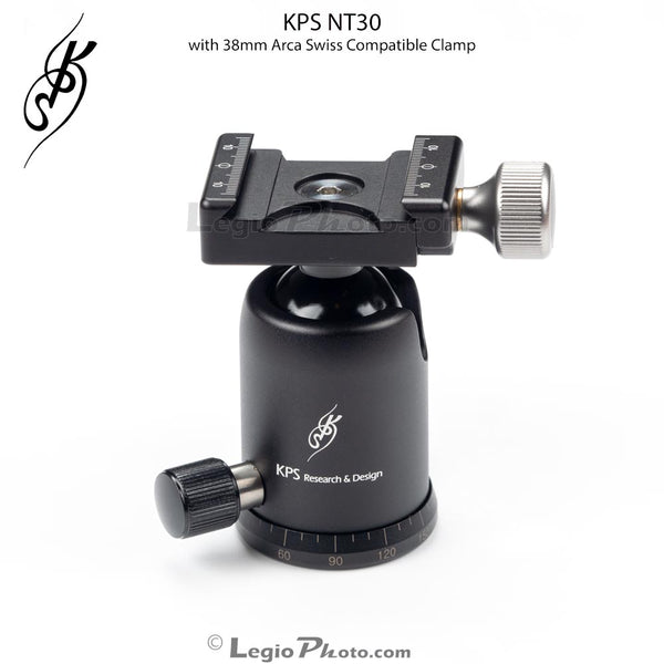 KPS NT30 Compact Ball Head with Arca Swiss Clamp