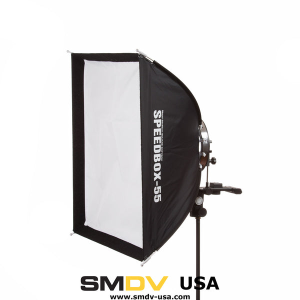 "SMDV Speedbox-S55 - 22 x 22"" (55 x 55 cm) Square Softbox"
