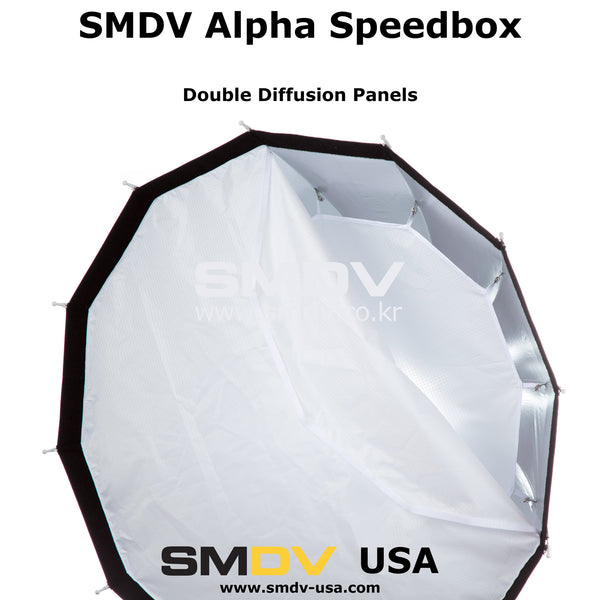 "SMDV Alpha Speedbox-A110 - 110cm (44"") Softbox"
