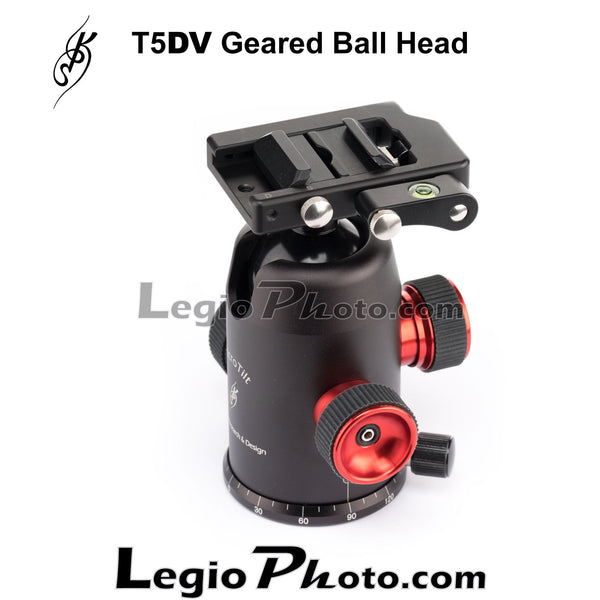 KPS T5DV Geared Ball Head (with KPS Lever Quick Release Clamp)