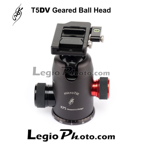 KPS T5DV Geared Ball Head (with KPS Lever Quick Release Clamp) (SPECIAL)