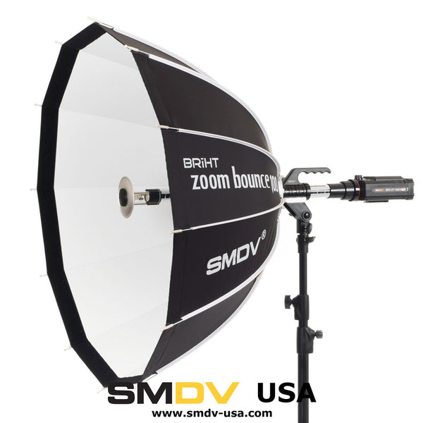 SMDV Zoom Bounce Reflector/Softbox for SMDV BRīHT-360 Flash