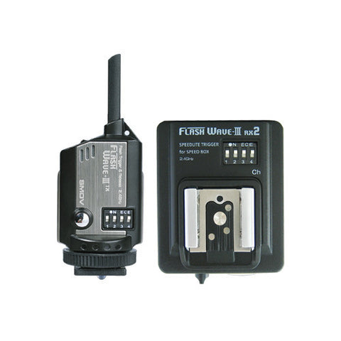 SMDV FlashWave-III RX2 - Transmitter and Receiver Set
