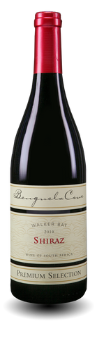 Benguela Cove Shiraz 2010, Walker Bay