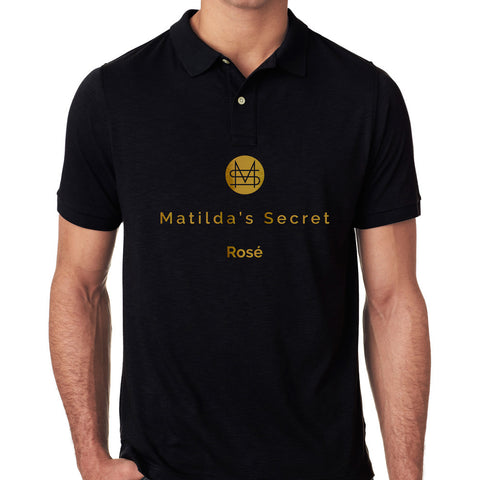 Matilda's Secret Rosé Golf Shirt