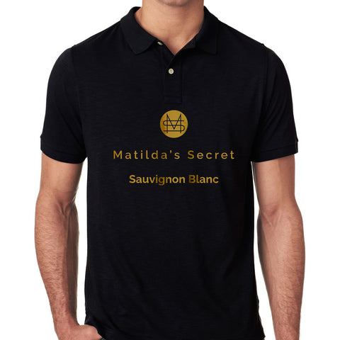 Matilda's Secret Sauvignon Blanc Golf Shirt