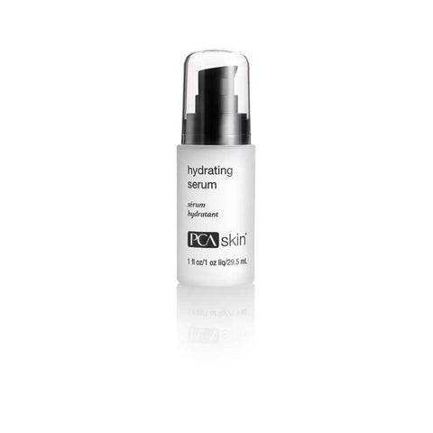 A serum containing a specialized blend of antioxidants and moisture-binding ingredients to leave skin soft, plump and hydrated.