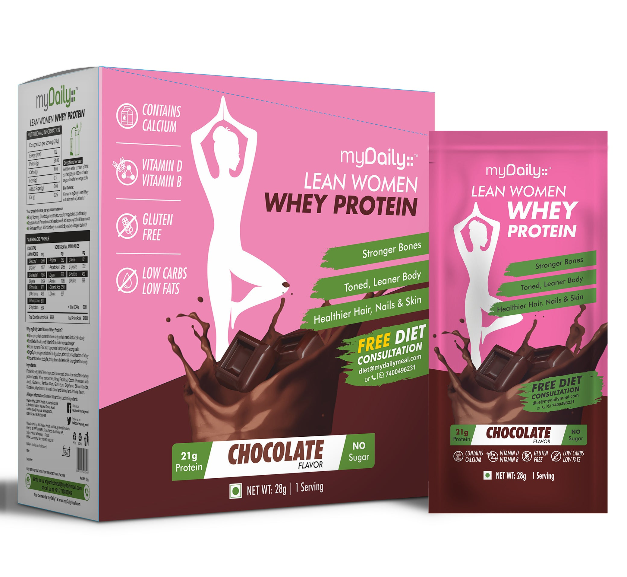 Women's Lean Whey - Chocolate ( 15 servings )