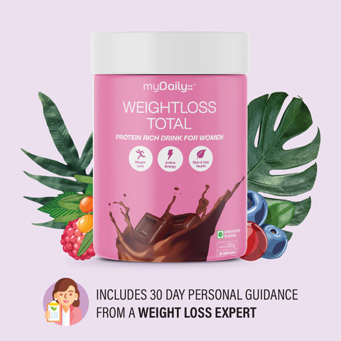 Weight Loss Total Protein - For Women • For Long Term Results • Natural & Healthy • Includes Phone Consultation & Personal Guidance
