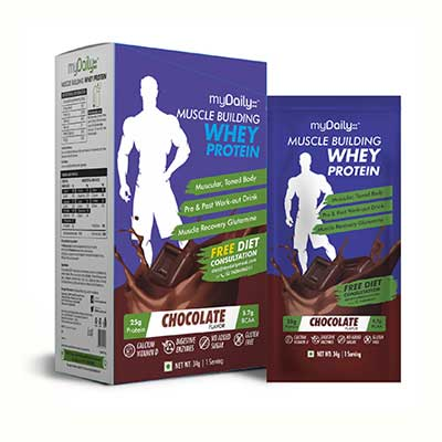 Muscle Whey for Men - Chocolate