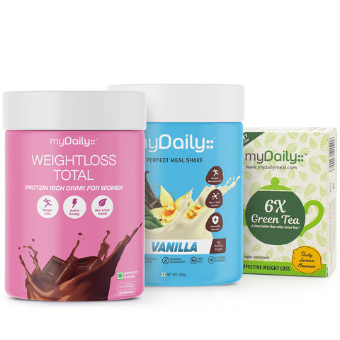myDaily 25 day Weight Loss Kit - Prime: Effective Results, Improved metabolism