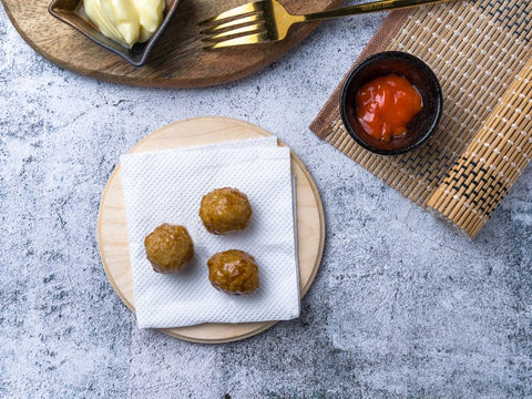 Chicken Meatballs (3pc)