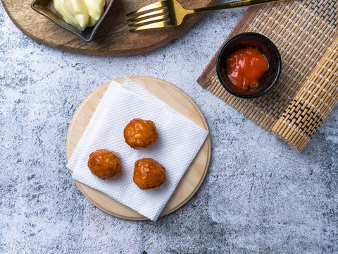 Cheese Chicken Meatballs (3pcs)