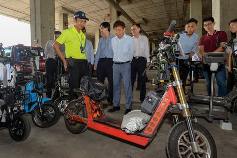 92kg e-scooter seized by LTA