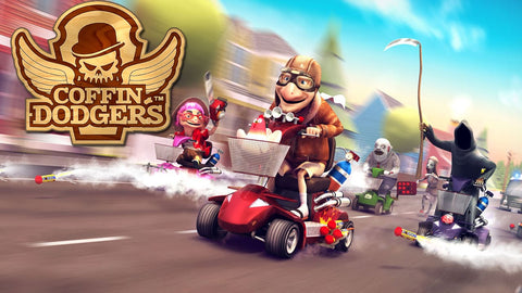 Mobility scooter racing game - Coffin Dodgers