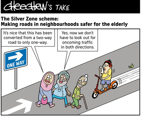 Making Roads Safer for Elderly