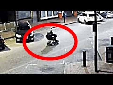 Thief on Mobility Scooter