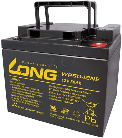 Long 12V 50AH SLA Battery
