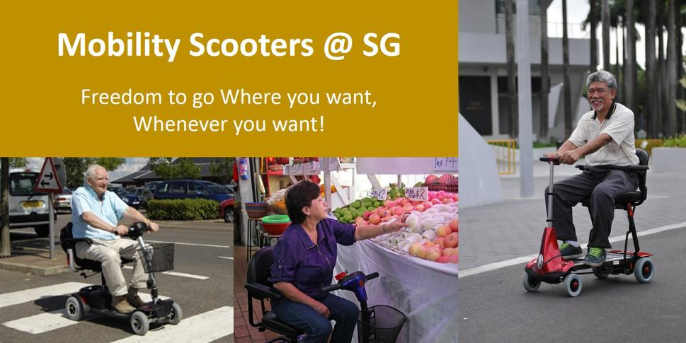 Mobility Scooters @ SG