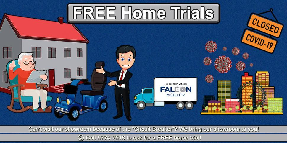 Free Home Trial for Personal Mobility Aids!