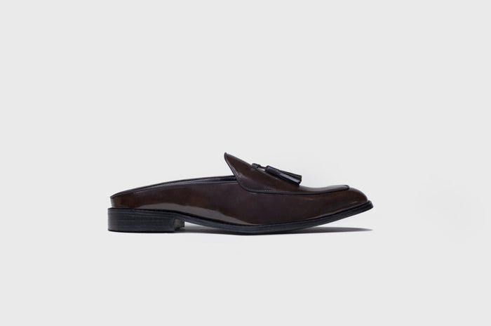MONOCHROME MULES-BROWN