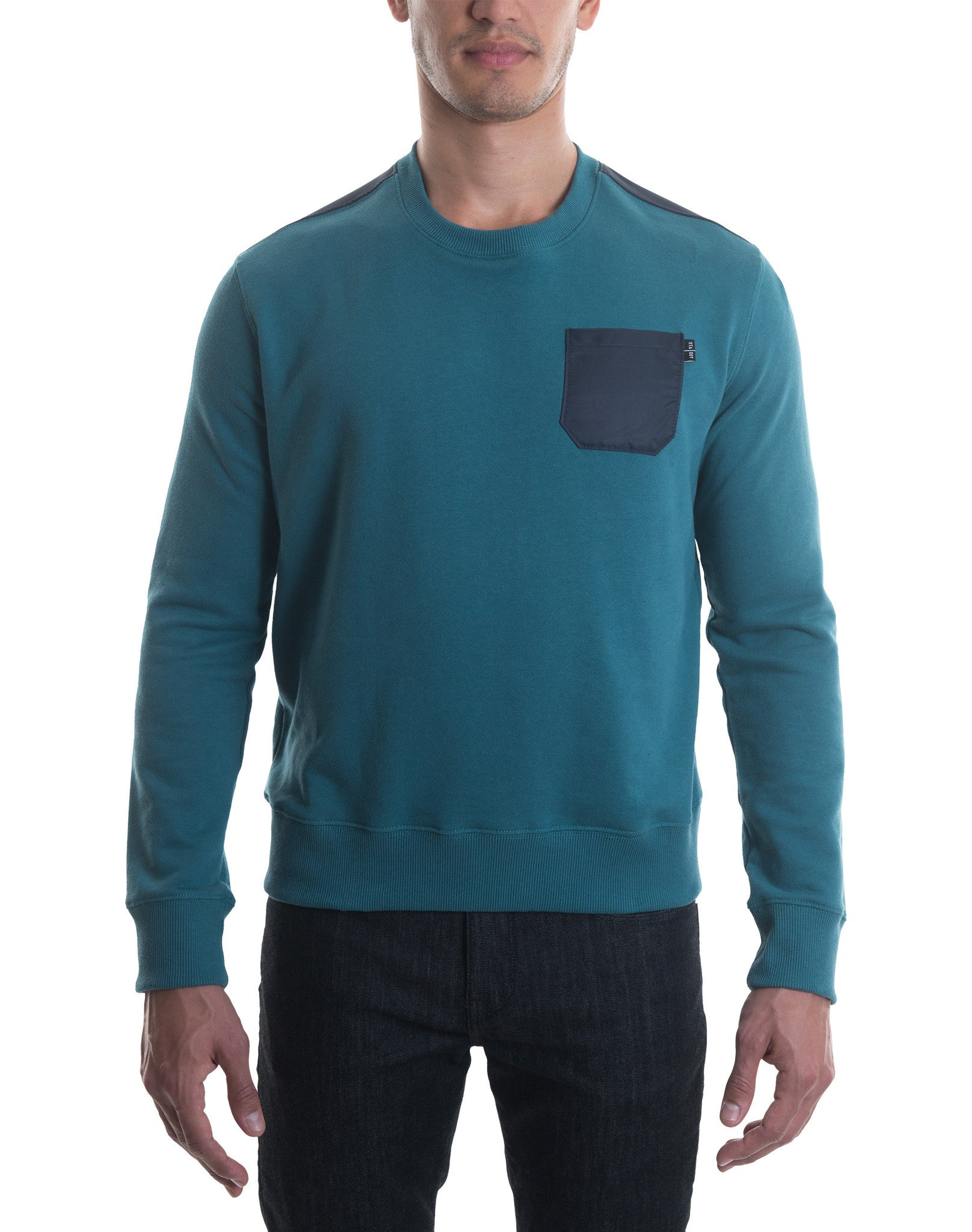 Slim Fit Sweatshirt Spruce