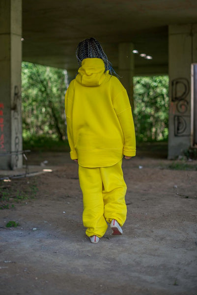 LEMON YELLOW SWEATPANTS