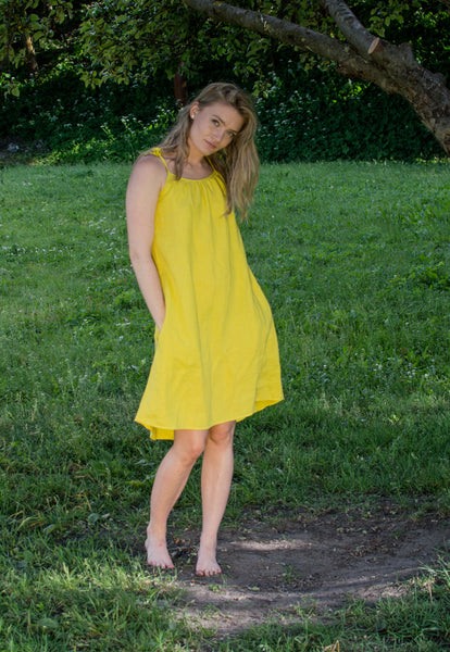 Yellow Lemon dress