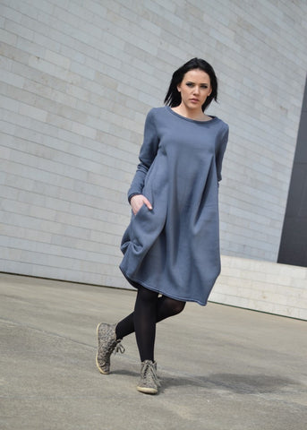 DARK GRAY ONE DRESS