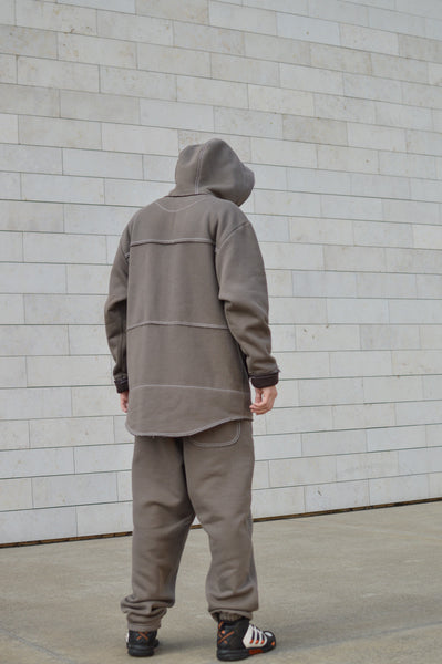 LIGHT BROWN PRO HOODIE