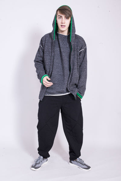 MAN BLACK SWEATPANTS