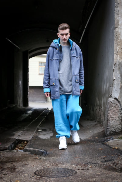 OCEAN BLUE SWEATPANTS