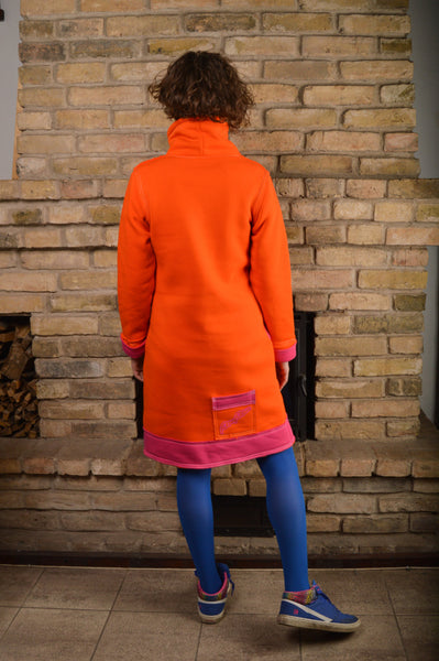 ORANGE&PINK SPORT DRESS