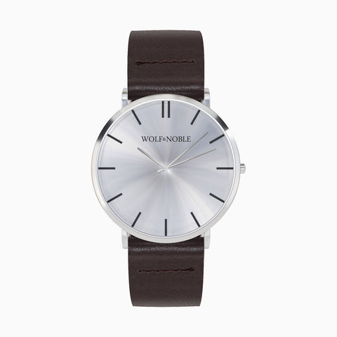 New Richmond Silver, Brown Strap