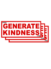 """Buy One Send One"" Generate Kindness Sticker Packs"