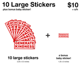 Generate Kindness Stickers