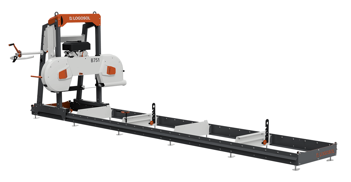 B751 Band Sawmill with 4.6 kW Electric Motor. Free Logosol Grindlux included! You Save: €689.00 Offer is good through 2020-08-17