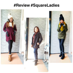 รีวิวจากลูกค้า winter collection by Squareladies : Review at our Store