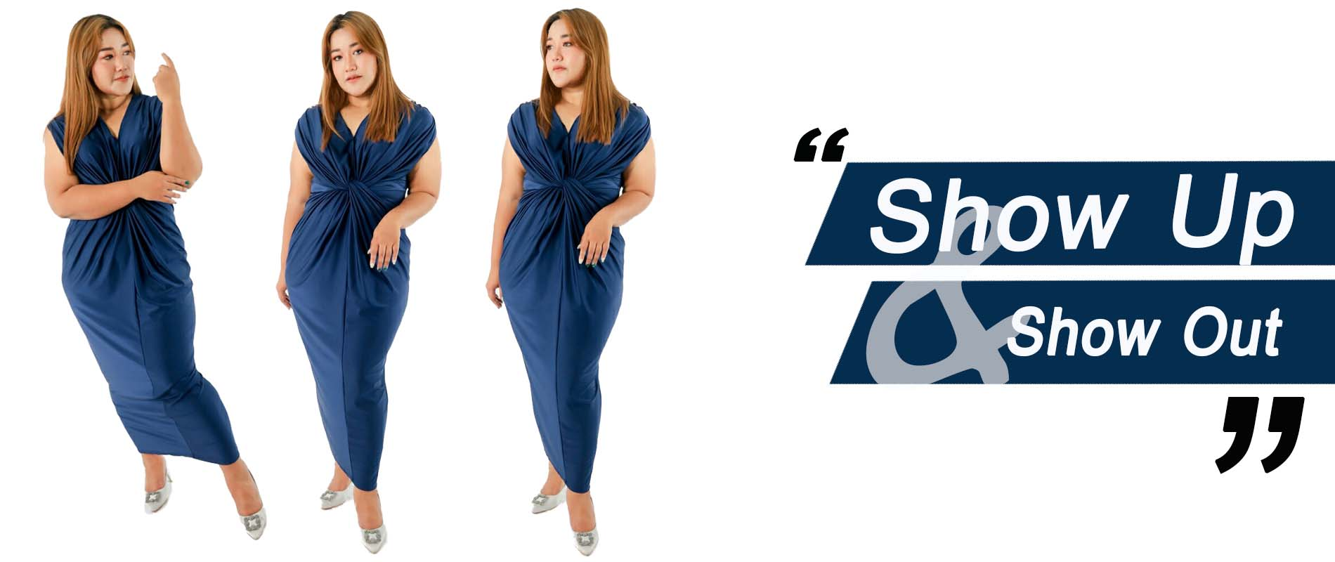 Show up and Show out Plus Size By squareladies
