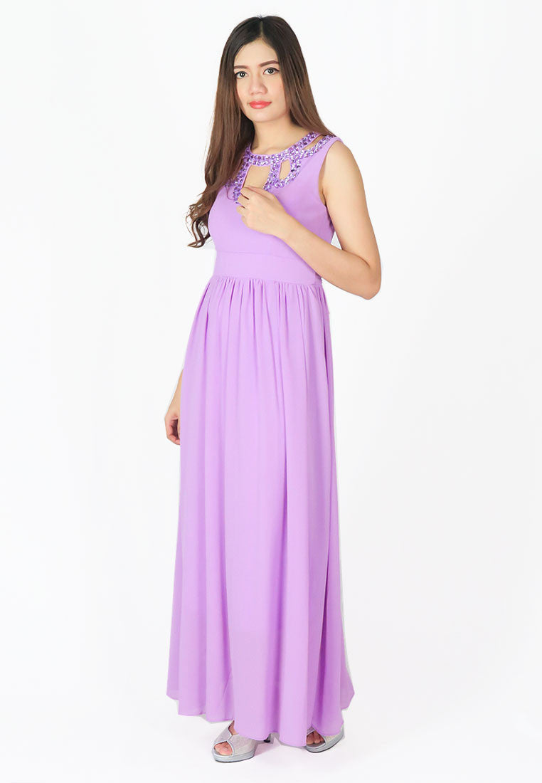 ชุดราตรียาว - A-line Chiffon Prom Evening Dresses
