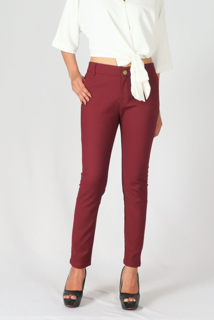 Skinny Stretch Slim Pencil Pants
