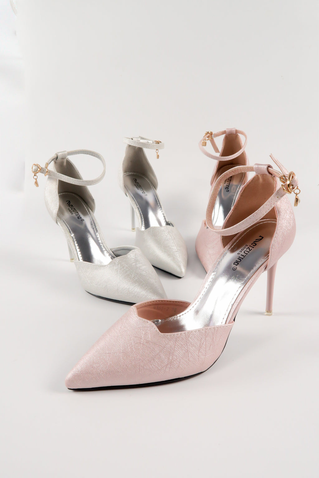 Modern Ankle Strap High Heels Pumps Shoes
