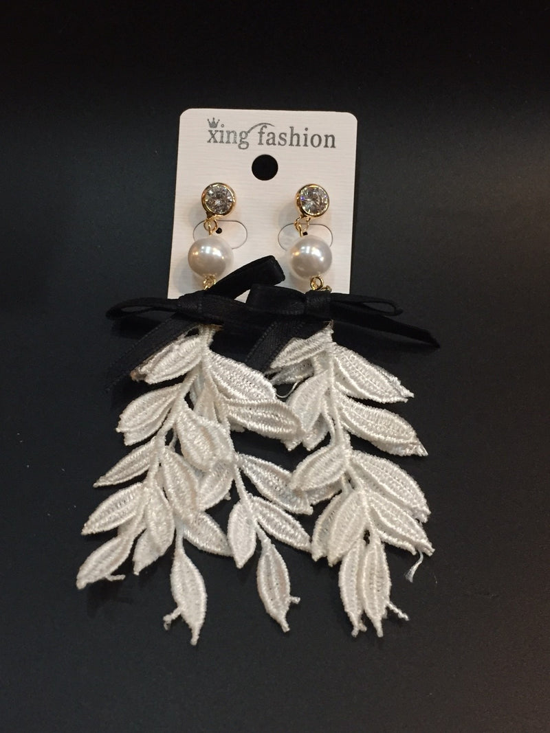 Drop Lace  Earrings