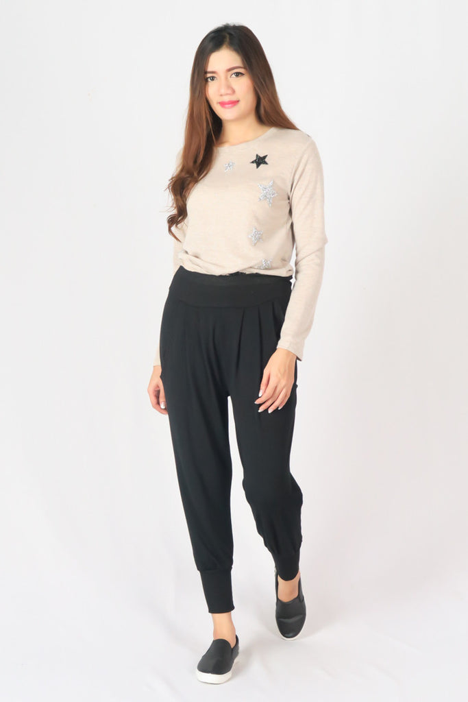 Casual Stretch Drawstring Skinny Pants
