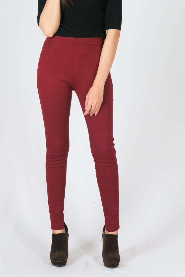 High-waisted Long leg pants