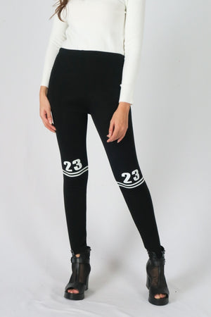 Number Print Legging
