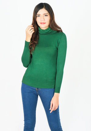 Basic Turtleneck Knit Sweater