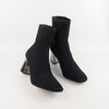 Pointed Toe Mid Heel Ankle Boots